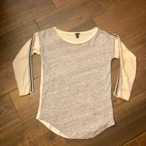 J Crew 3/4 Sleeve Top in Size XS